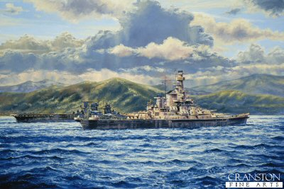 USS Indiana, First Tour of Duty by Anthony Saunders (P)