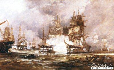 Battle of Trafalgar by George Chambers (GSB)