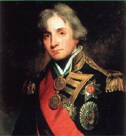 Nelson by John Hoppner after Healy.