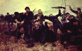 The Skirmish Line by Gilbert Gaul.