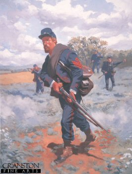 Sergeant 23rd Pennsylvania Infantry Zouaves 1863 by Jim Lancia.