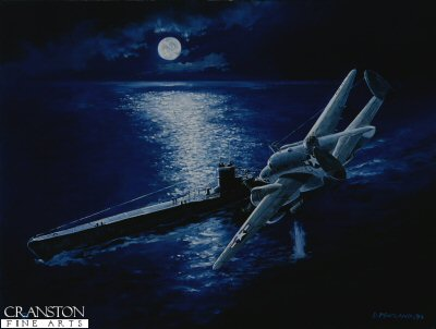 The Hunt for U-Boat 134 by David Pentland. (B)