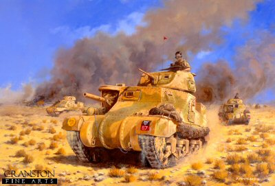 Operation Supercharge, 4th November 1941 by David Pentland. (Y)