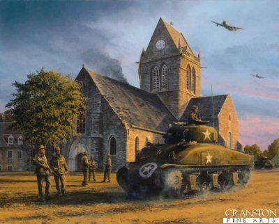 Liberation - Sainte Mere Eglise by Richard Taylor.