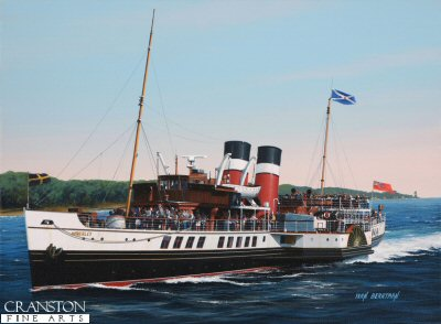 PS Waverley by Ivan Berryman.