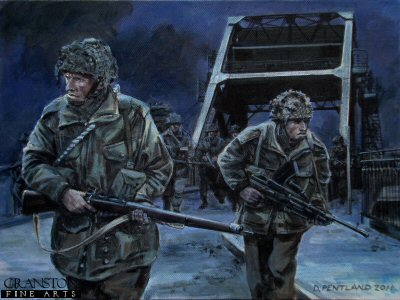Storming Pegasus Bridge by David Pentland.