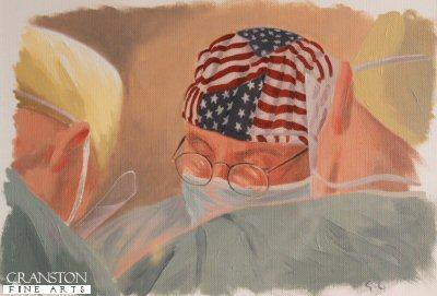 Surgeons of Camp Bastion by Graeme Lothian.