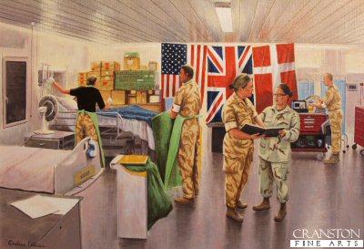 Bastion Hospital - Intensive Care by Graeme Lothian.