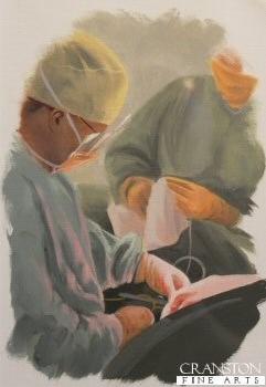 Surgeon Study by Graeme Lothian.