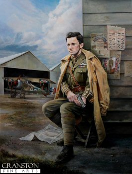 Albert Ball VC by Chris Collingwood. (GS)