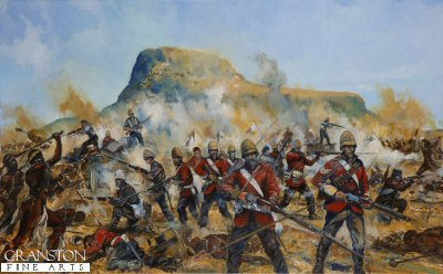 The Battle of Isandlwana by Jason Askew. (P)