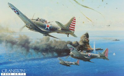 Battle of the Coral Sea by Robert Taylor.