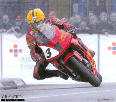 King of the Roads - Joey Dunlop by Ray Goldsbrough.