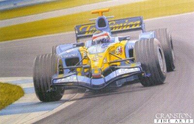 Born to Win - Fernando Alonso by Ray Goldsbrough.