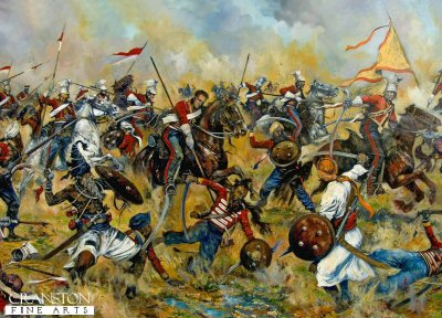 The Battle of Aliwal by Jason Askew. (PC)