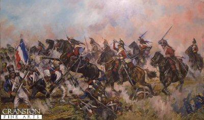 The Inniskillings at Waterloo by Jason Askew. (GL)