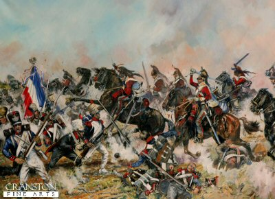 The Inniskillings at Waterloo by Jason Askew. (PC)