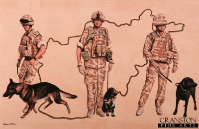 Tribute to the Royal Army Veterinary Corps by Graeme Lothian.