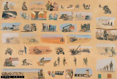 101 Logistic Brigade by Graeme Lothian. (GS)