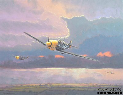 Me109 of JG26 by Graeme Lothian. (P)