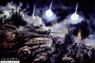 Battle of the Hook, Korea by David Rowlands. (Y)