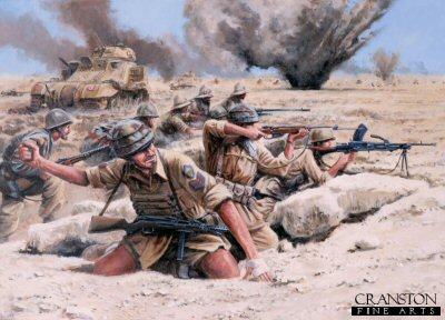 Folgore at El Alamein by David Pentland. (PC)