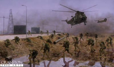 40 Commando Royal Marines by David Rowlands.