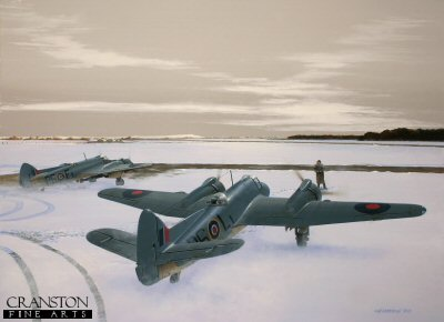 Kiwis at Dallachy - Tribute to No.489 Squadron by Ivan Berryman.