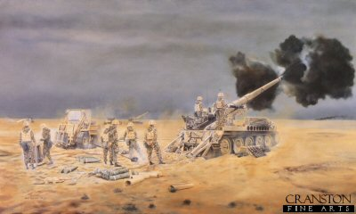 32 Regiment Royal Artillery In the Gulf War, 1991 by David Rowlands (AP)