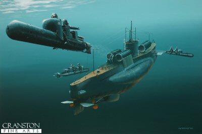 Assault from the Deep by Ivan Berryman.