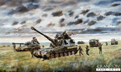 1st Regiment Royal Horse Artillery by David Rowlands (GL)