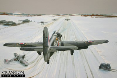 Snowbound - Tribute to No.439 Sqn RCAF by Ivan Berryman.