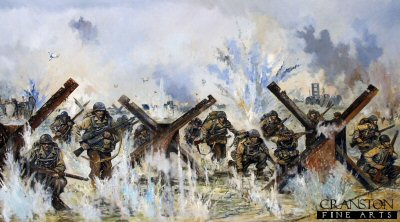 US 4th Division, Utah Beach, D-Day, 6th June 1944 by Jason Askew. (APB)