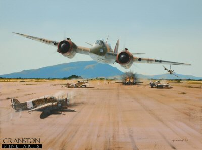 Raid on Borizo - Tribute to 272 Squadron by Ivan Berryman.