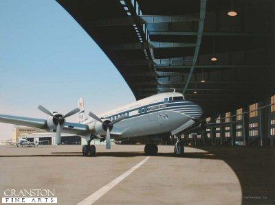 Clipper Virginia at Tempelhof by Ivan Berryman. (GS)