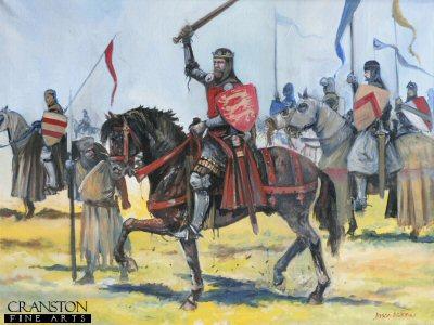 Edward II at the Battle of Bannockburn by Jason Askew. (P)
