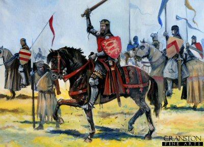 Edward II at the Battle of Bannockburn by Jason Askew. (PC)