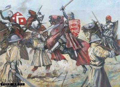King Edward II's Retreat from Bannockburn by Jason Askew. (PC)