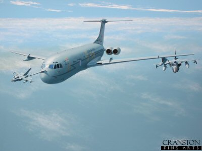 Tribute to the VC10 by Ivan Berryman. (GS)