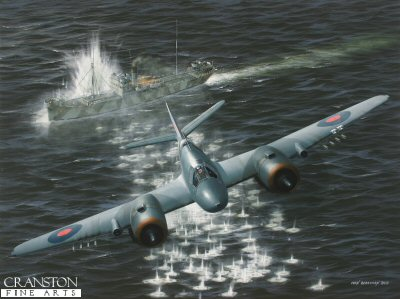Hit and Run - Tribute to No.144 Squadron by Ivan Berryman. (P)