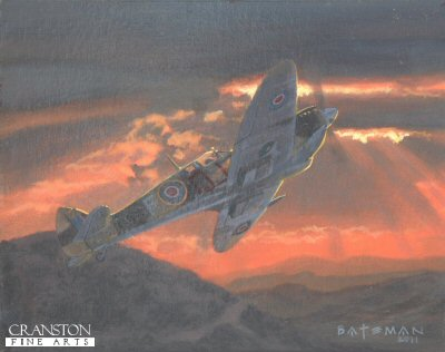Tribute to Flt Lt Eddie Edwards by Brian Bateman. (P)