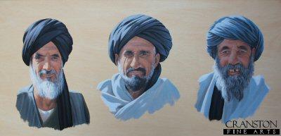 Helmand Faces by Graeme Lothian.