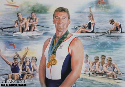 Sir Matthew Pinsent CBE by James Owen.