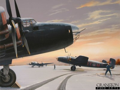 White-out at Breighton - Tribute to No.78 Squadron by Ivan Berryman. (P)