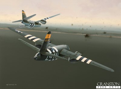 Dawn Chorus - Tribute to the men of the 553rd Bomb Squadron, 386th Bomb Group by Ivan Berryman.