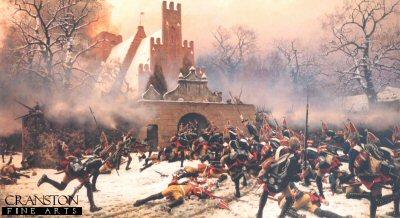 Die Schlacht Von Leuthen 7th December 1757 by Carl Rochling.
