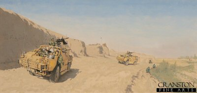 Jackals of the Queen's Royal Hussars by Graeme Lothian.