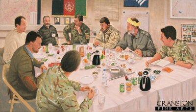 Christmas Dinner - Afghanistan by Graeme Lothian.
