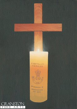 Candle and Cross by Graeme Lothian.
