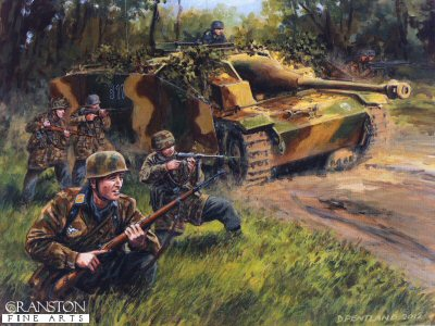 Defenders of the Reichswald by David Pentland.
